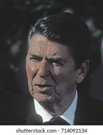 Washington DC. USA, April, 1984 