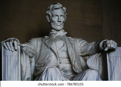 Washington, DC / USA - August 1, 2017: The Lincoln Memorial