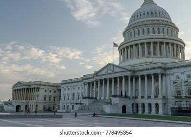 Washington, DC / USA - August 12 2013: The Capitol