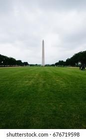 WASHINGTON D.C., USA - CIRCA MAY 2017: Washington Monument on the National Mall in Washington, D.C