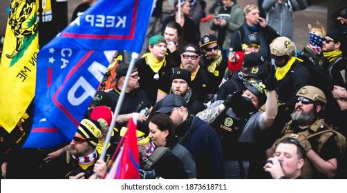 Washington, DC, USA | Dec 12, 2020 | Million Maga March: Proud Boys in DC