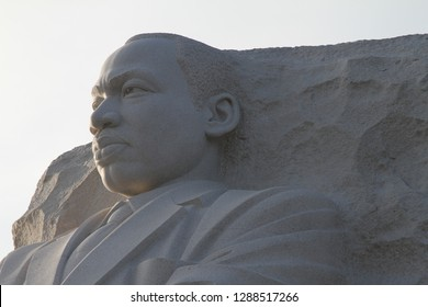 Washington DC USA February 23 2015  Martin Luther King Statue Black History month.