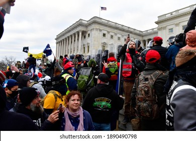 washington dc, usa Jan 6 2021: DC riots