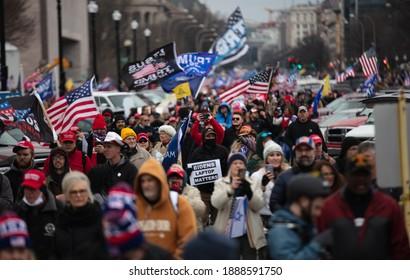 Washington, D.C. | U.S.A. - Jan 6th, 2021: Trump Initiated Riots in at the Capitol