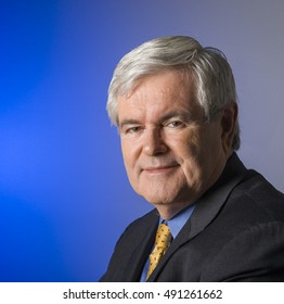 WASHINGTON, DC, USA - JANUARY 27, 2005: Newt Gingrich, former Speaker of the U. S. House of Representatives.