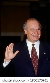 Washington DC. USA, January 3, 1997Senator Fred Thompson (R-TN) is sworn in on the opening day of the 105th congress