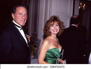 Washington DC., USA, July, 2, 1991Frank and Kathy Lee Gifford arrival at the White House for the State Dinner in Honor of the South Korean President Roh Tae Woo.