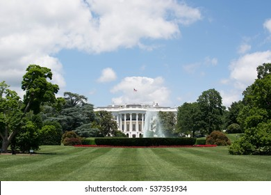 Washington DC, USA - JUNE 5 2014 : The White house.