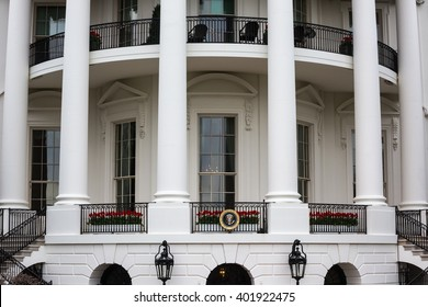 WASHINGTON D.C., USA - Mar 31, 2016: The White House Washington DC, United States