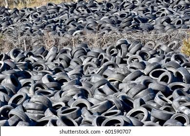 Tires in Junk Yard Images, Stock Photos & Vectors | Shutterstock