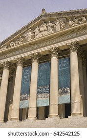 WASHINGTON, DC, USA - MAY 1, 2007: The United States National Archives building.