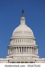 WASHINGTON, DC, USA - MAY 2, 2013: United States Capitol building.