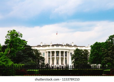 Washington DC USA, May 2018: White House