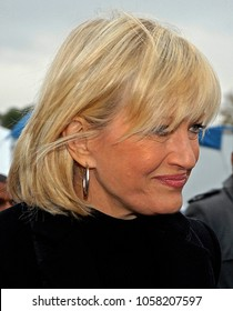 Washington DC., USA, November 13, 2006 Diane Sawyer (ABC) attends the groundbreaking dedication of the Martin Luther King  memorial.