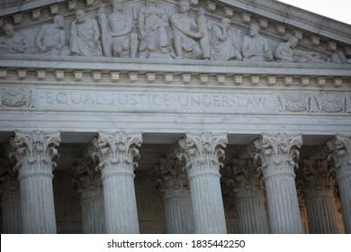Washington, D.C. / USA - Oct 15 2020: No Confirmation Until Inauguration Protest, Near the Supreme Court