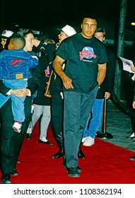 Washington, DC., USA, October 3, 1993 Muhammad Ali arrives at the grand opening of the Planet Hollywood night club