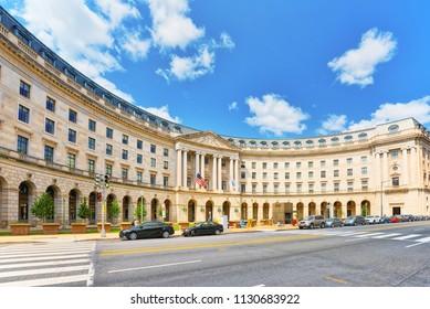 Washington, DC, USA - September 10,2017 :U.S. Environmental Protection Agency Headquarters.