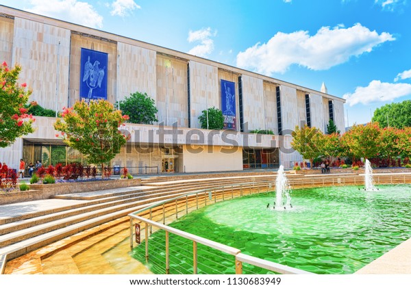 Washington, DC, USA - September 10,2017 : Smithsonian National Museum of American History located on National Mall.