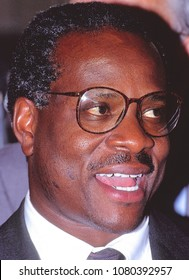 Washington DC., USA, September, 1991  Clarence Thomas nominee for Associate Justice of the United States Supreme Court.