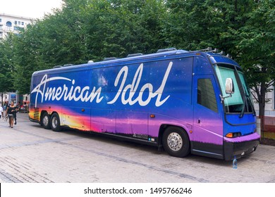 Washington, DC / USA - September 4, 2019: American Idol auditions are in Washington, DC for one day only.