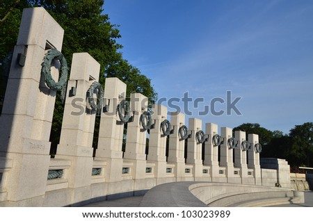 Washington DC World War