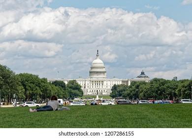 Washington DC,/United States-2018.06.03: United States Capitol