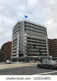 Washington DC/USA - Jan 09 2019 :  Delegation of the European Union at Washington DC.