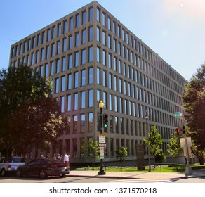 Washington, DC/USA-Oct. 13, 2015: The Foggy Bottom headquarters of the General Services Administration in Washington.
