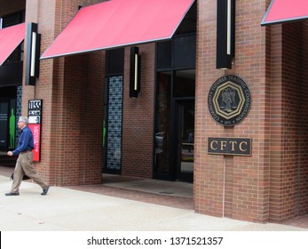 Washington, DC/USA-Sept. 29, 2015: The downtown Washington offices of the Commodity Futures Trading Commission, which regulates futures exchanges.