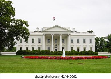Washington, District of Columbia - 27 May 2013: The White House, Washington D.C., USA.