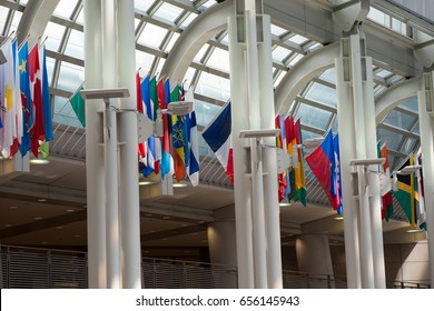 WASHINGTON, DISTRICT OF COLUMBIA - APRIL 14: View of the U.S. Customs and Border Protection Building on April 14, 2017
