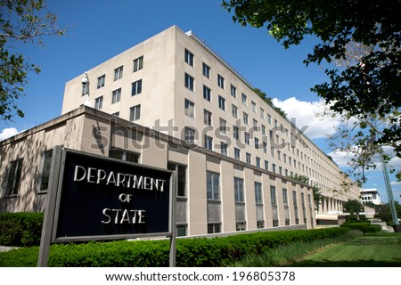 WASHINGTON - JUNE 1: U. S. Department of State Headquarters on June 1, 2014 in Washington, DC.