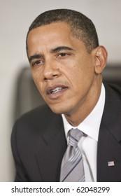 WASHINGTON - JUNE 29: US President Barack Obama at the Oval office June 29, 2009 in Washington, DC