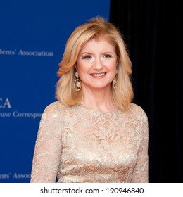 WASHINGTON MAY 3 -�� Ariana Huffington arrives at the White House Correspondents� Association Dinner May 3, 2014 in Washington, DC