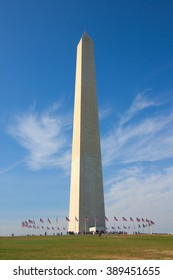 Washington memorial in DC, USA
