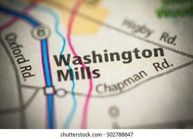 Washington Mills. New York (State). USA.