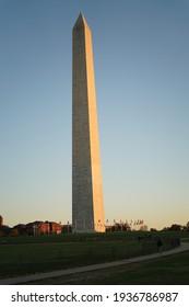 The Washington Monument in Washington DC
