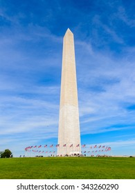 Washington Monument, an obelisk on the National Mall in Washington, D.C. U.S. National Register of Historic Places