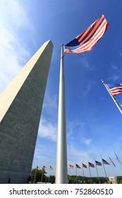 Washington Monument (obelisk) on the National Mall in Washington, D.C