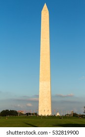 The Washington Monument on the Mall