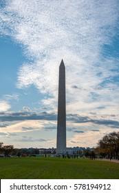 Washington Monument on the National Mall - Washington D.C.
