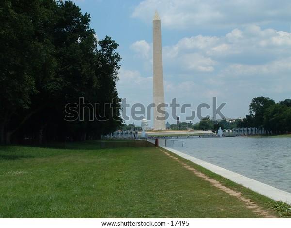 Washington Monument and Reflecting Pool, Washington D.C.