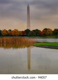 Washington Monument Reflections of Bravery