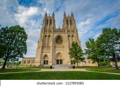 The Washington National Cathedral, in Washington, DC.