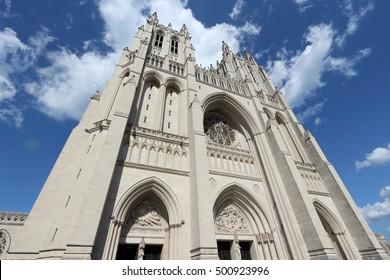 Washington National Cathedral - Washington DC, United States.