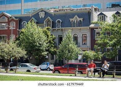 WASHINGTON, USA - AUGUST 19, 2016: Neighborhood