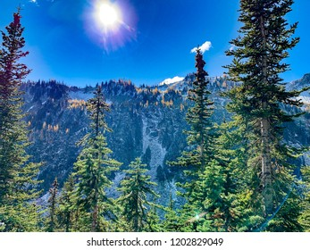 Washington, USA: Heather Maple Pass Loop trail near Mount Baker