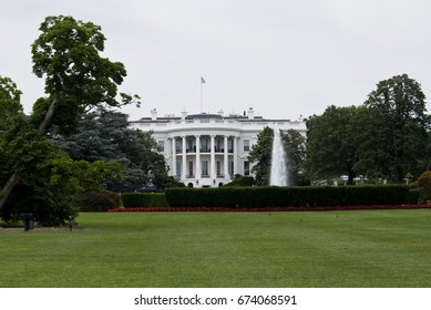 WASHINGTON, USA - JUNE 22, 2016: The white house, Washington D.C.