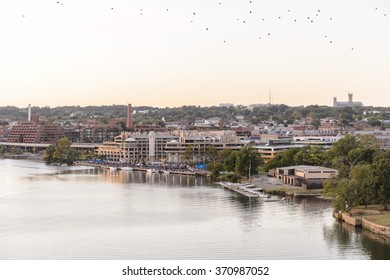 WASHINGTON, USA - SEP 24, 2015: John F. Kennedy Center for the Performing Arts. The Center produces and presents theater, dance, ballet, orchestral, chamber, jazz