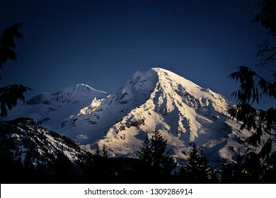 Washington's Beautiful Rainier Mountain in all its glory